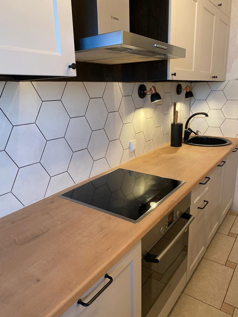 Замена столешницы на кухне